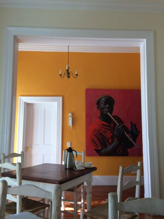 Six on Scott: Frühstücks- und Aufenthaltsraum