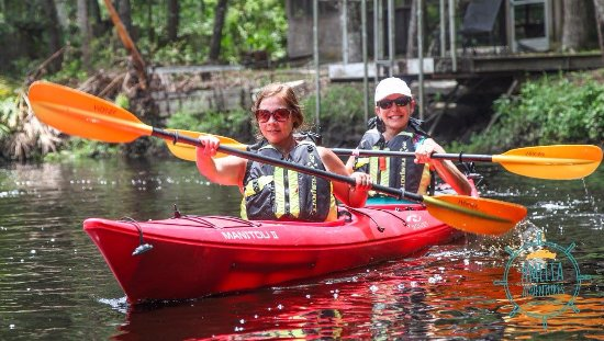 Fernandina Beach, FL: Tandem kayaking is very fun!