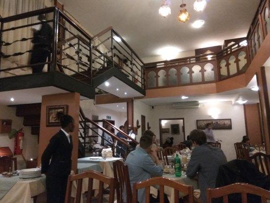 Open House Restaurant : Inside view of the restaurant