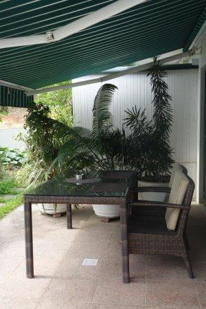 Hanneman Holiday Residence: Terrasse
