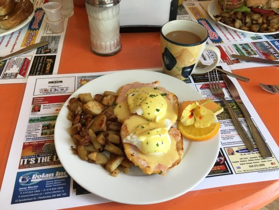 Meaford, Canada: Original Benedict with Pemeal Bacon