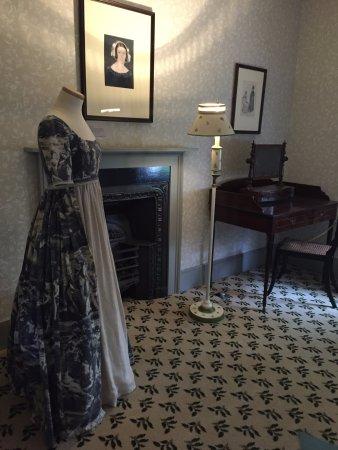 Keats House : ファニー・ブラウンは小柄だったようです