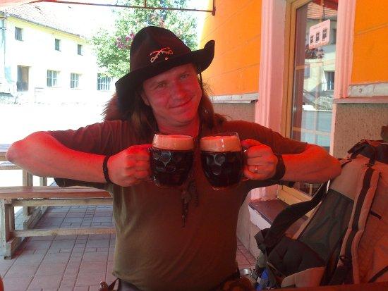 Klatovy, Tjekkiet: V pivovaru Stará škola