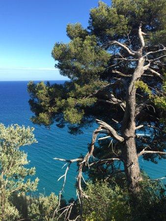 Italian Riviera, Italia: Scorci Via Julia Augusta
