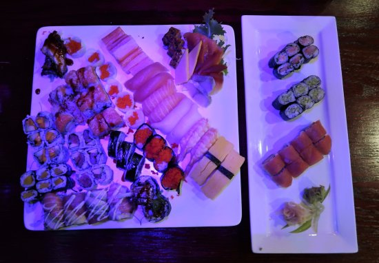 Plainsboro, NJ: The goods - rolls, special rolls, maki rolls, sushi, and sashimi.