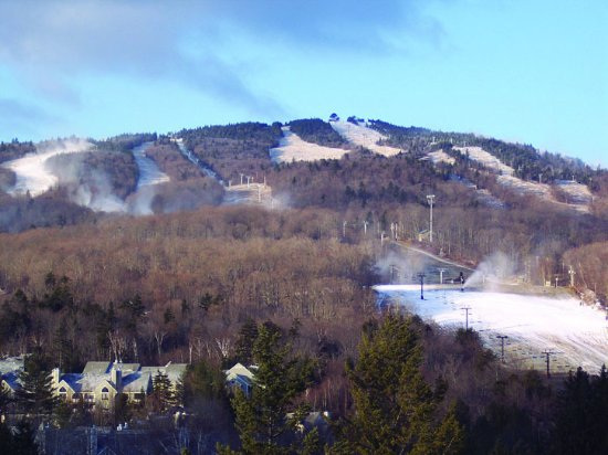 Lodge at Mount Snow: Our View!