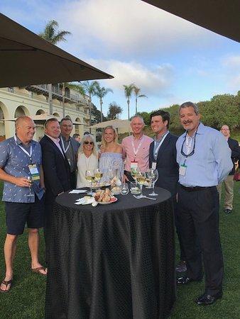 The Ritz-Carlton, Laguna Niguel: Outdoor business function.