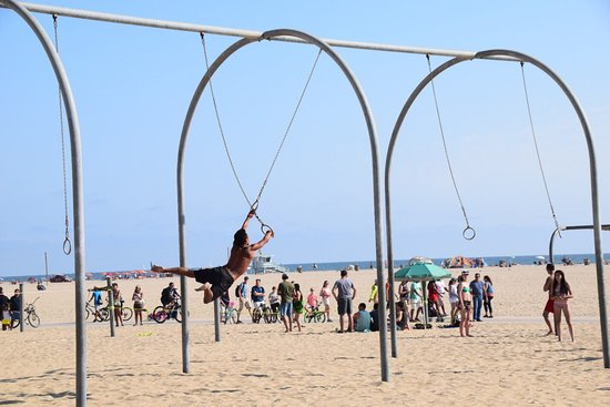 NOT Muscle Beach Venice. This one's for Acrobats! - Review of Muscle Beach  Venice, Los Angeles, CA - Tripadvisor