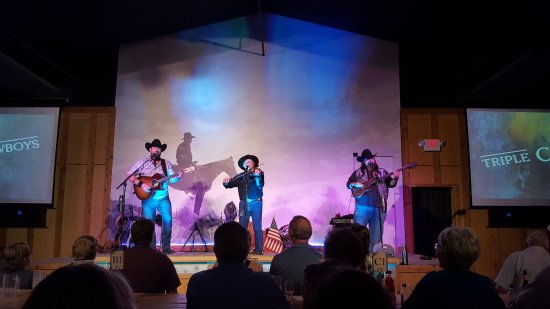 The Cody Cattle Company : The night's entertainment