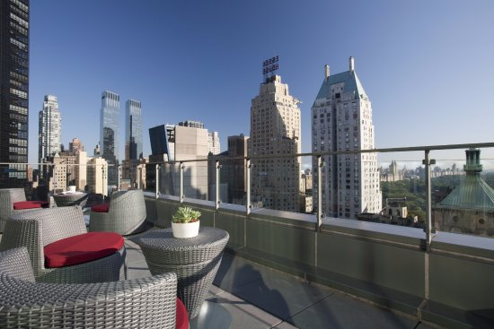 New York Balcony View Of West 57th Street By Hilton Club Updated 2018 Prices