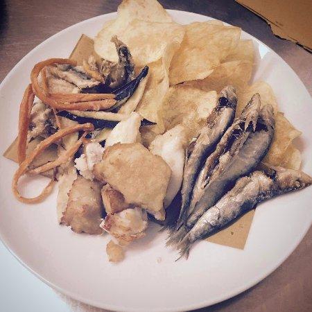 Fish and Chips alla Veneta