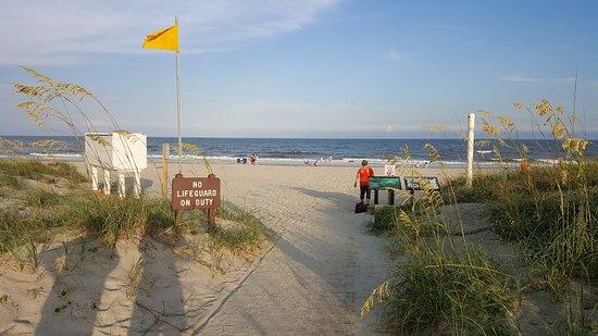 Huntington Beach State park/beach area