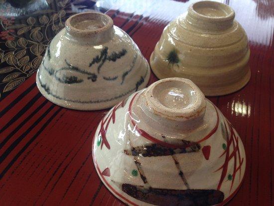 Toki, Japan: 美濃焼のお茶碗 柄が異なるところが素敵
