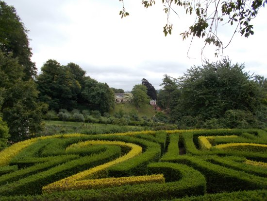 Painswick, UK: The maze.
