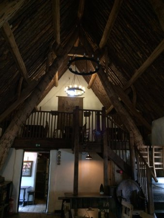 Craven Arms Cruck Barn: upstairs