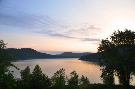 Smithville, TN: Morning view from the property
