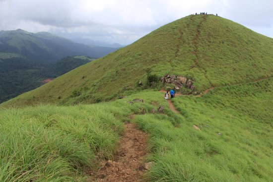 Ranipuram, Indien: Lush Green mountains......