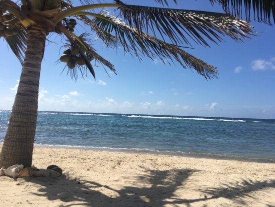 Bodden Town, Grand Cayman: Quiet beach area to relax