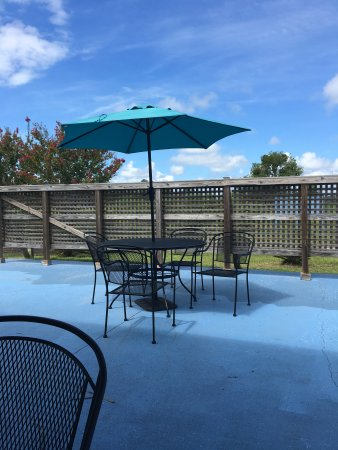 Saint Helena Island, SC: Patio view