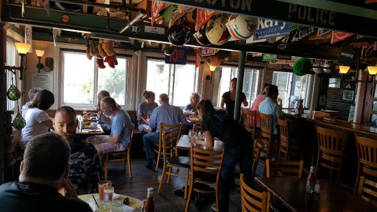 Cape Porpoise, ME: The Ramp's Dining Area Inside