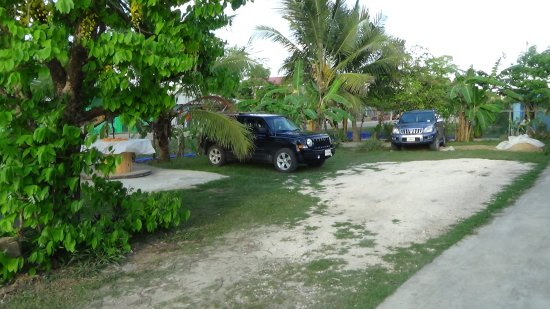 Belmopan, Belize: Free secured parking.