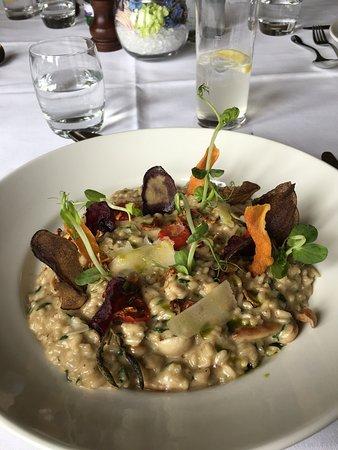 Stanley, UK: Mushroom risotto