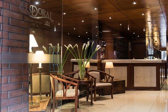 El Doral Apart Hotel: RECEPCION DEL HOTEL