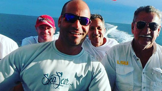 Bourg, Luizjana: These guys are pumped for Spearfishing come join us