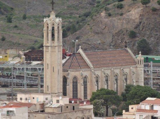 Església de Santa Maria, Portbou (Alt Empordà, Gérone, Catalogne), Espagne.