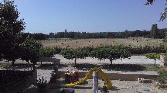 Roquemaure, Frankreich: Aire de jeux enfants et parking