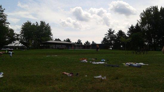 Cowansville, Kanada: la terrasse