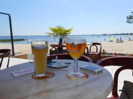 Maubuisson, Francia: Le bonheur du lac d'Hourtin !