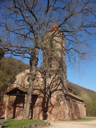 Monestir de Sant Joan les Fonts, Sant Joan les Fonts (Garrotxa, Gérone, Catalogne), Espagne.