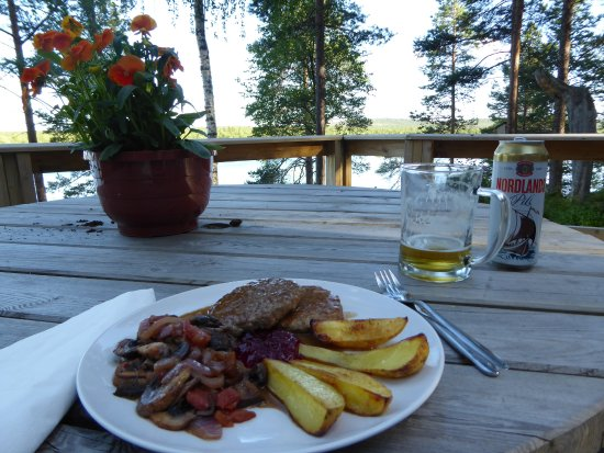 Svanvik, Norway: Rentierburger...sehr lecker