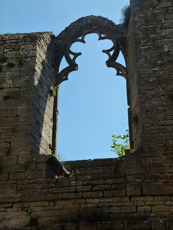 Martailly-les-Brancion, Fransa: fenêtre du logis