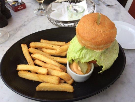 Burger - Billede af Café K, Hobro - TripAdvisor