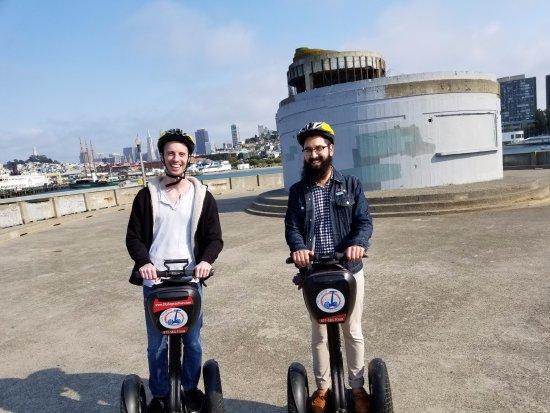 City Segway Tours San Francisco : Two Happy Bros