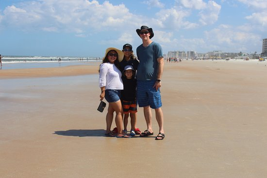 Beach At Daytona Family Photo