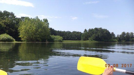 Canoe Kayak 2X Aventures: tranquille en mode retour