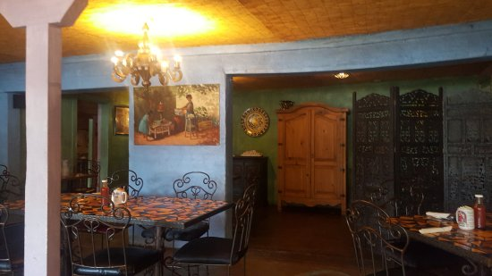 Tumacacori, AZ: dining room facing east