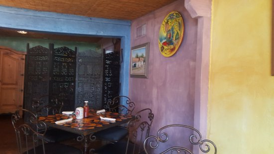 Tumacacori, AZ: dining room facing south