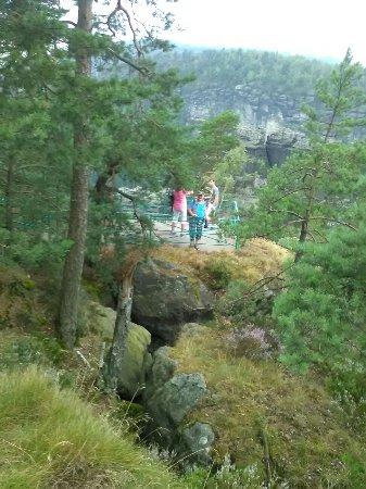 Risnjak National Park, Kroasia: Výhliadka na Pravčickej bráne