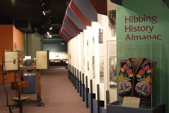 Hibbing, MN: Historical displays by decade