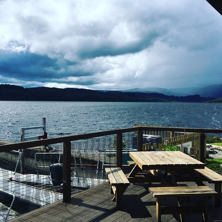 Venachar Lochside: Loch view