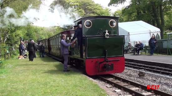 Parracombe, UK: Welcome refreshment for the loco crew!