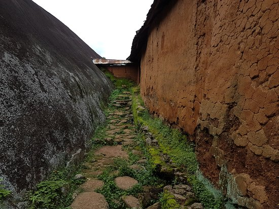 Idanre, ไนจีเรีย: The old village at the top of the hill