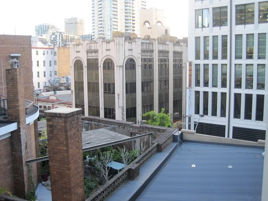 Pensione Hotel Sydney - by 8Hotels: the view from outside stairs