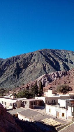 Cerro de los Siete Colores (Berg der sieben Farben): vista desde arriba del Cerro
