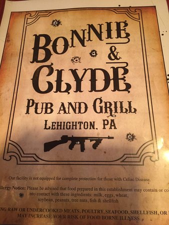 Bonnie & Clyde Pub And Grill