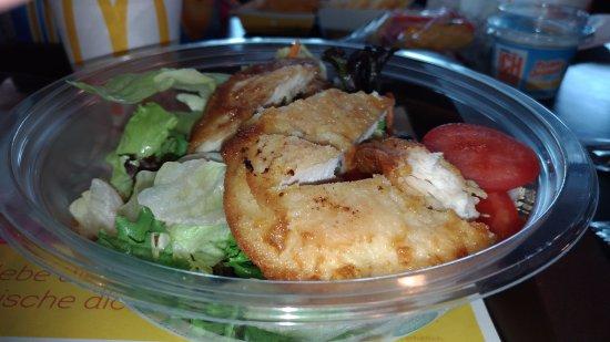 Bludenz, Avusturya: Вкусный салат